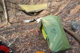 Hamock and Huba tent
