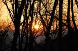 Sunrise on the hike to Fontana