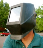 Solar Eclipse viewing mask
