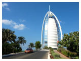 Burj Al Arab, the pride of Dubai, the marking of a new beginning