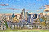 Dallas Skyline (Take 1)