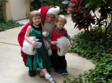 In the jungle with Santa