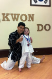 Grand Master Choi and Lucy