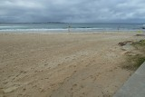 The empty beach - Cronulla Beach in the winter