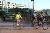 Pyrmont bridge - cyclists