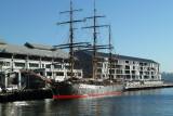 Tall ship at pier 10