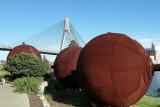Anzac bridge - looking south