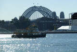 Sydney Harbour Bridge from pier 20 - Pyrmont