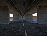 Under the Raymond E. Baldwin bridge