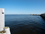 Mouth of the Connecticut River at Long Island Sound