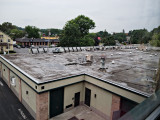 The 'hidden' ugliness of flat roofs.