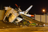 This aircraft crashed after reporting power loss.  Sadly, 1 fatality, 2 injured.