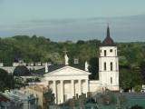 View toward Vilnius Cathedral