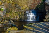 Lower water fall , Bowlees