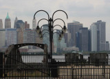 New York City Skyline from TrainStation