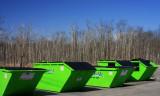 Green Dumpsters
