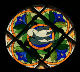 Altar Stained Glass Window