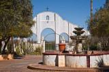 Mission San Xavier del Bac Courtyard