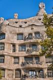 Gaudi's La Pedrera Apartments