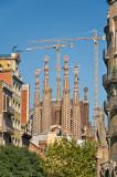 Gaudi's La Sagrada Familia, still decades from completion