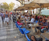 Strolling and Eating on the Ramblas