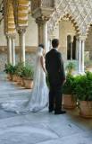 Bride at the Alcazar