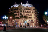 Gaudi at Night.