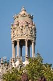 Atop a Gaudi Building