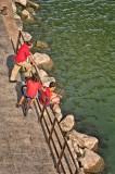 Fishing in Seville