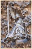 Gaudi's La Sagrada Familia Exterior