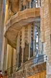 Gaudi's La Sagrada Familia Stairs
