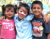 With Sofia and Siddhart at my birthdayparty