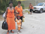 Curacao family on their way to celebrate Queensday