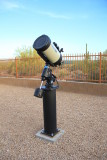 Completed interim telescope mounting
