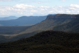 across the Blue Mountains valley