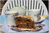 Carrot Cake and Tea