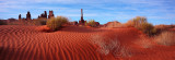 Monument Valley Sand Dunes Panoramic - April 2011