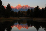 Schwabacher Landing Sunrise - September 2011