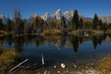 Schwabacher Landing, Grand Tetons NP - September 2011