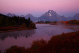 Oxbow Bend Sunrise, Grand Tetons NP - Fall 2011