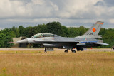 Orange Jumper F-16