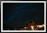 Casa y Via Láctea