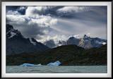 Patagonia: Ice on Grey Lake and Grey Glacier