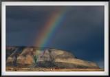 Rainbow Over Dorotea Range