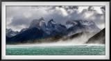 Wind Gusts on Lake Pehoe