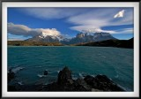 Patagonia: View of the Paine Massif