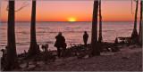 The Sun Sets Over Lake Pontchartrain