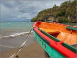 Fishing Boats at Anse La Raye