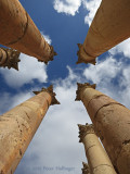 Columns at the Temple of Artemis