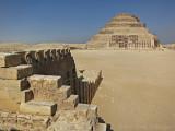 Cobra Frieze at the Step Pyramid of Djoser Sakkara